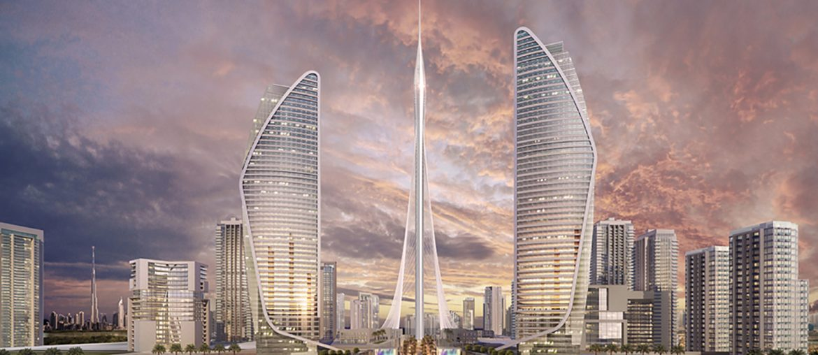 The construction of the tallest new building in the world begins